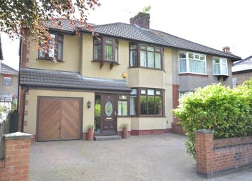 Thumbnail 4 bed semi-detached house for sale in Halewood Road, Gateacre, Liverpool