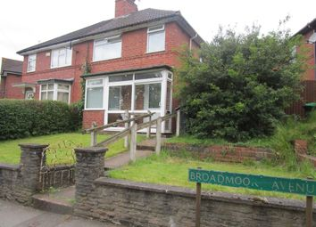 Thumbnail 3 bed semi-detached house for sale in Broadmoor Avenue, Bearwood, Smethwick
