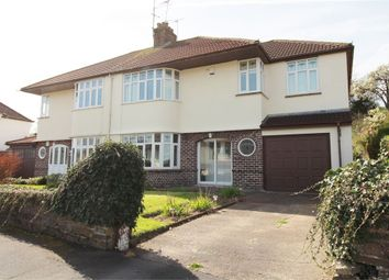 Thumbnail 4 bed semi-detached house for sale in Court Crescent, Bassaleg, Newport
