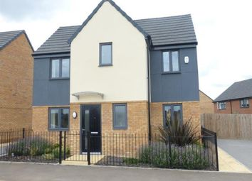 Thumbnail 3 bedroom detached house for sale in Chamberlain Way, Gunthorpe, Peterborough