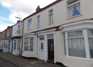 Thumbnail 2 bed terraced house for sale in Londonderry Road, Stockton-On-Tees