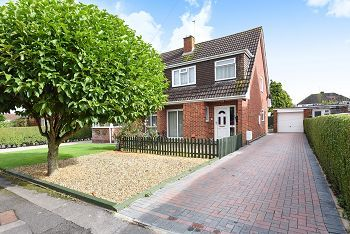 Thumbnail 3 bed semi-detached house for sale in 16 Tennyson Close, Warminster