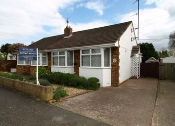 Thumbnail 2 bed bungalow for sale in Linford Avenue, Newport Pagnell, Buckinghamshire