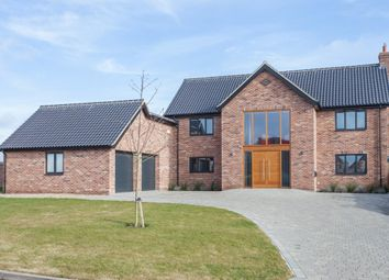 Thumbnail 4 bed detached house for sale in Highview, Sporle, King's Lynn
