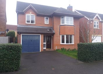 Thumbnail 4 bed detached house for sale in Duncombe Road, Heathley Park, Leicester