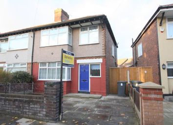 Thumbnail 3 bed semi-detached house for sale in Brooklands Avenue, Waterloo, Liverpool
