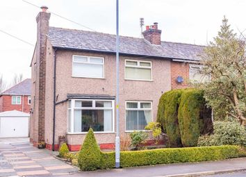 Thumbnail 3 bed semi-detached house for sale in Clovelly Avenue, Leigh, Lancashire
