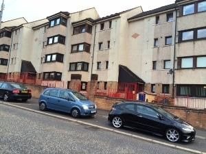 Thumbnail 2 bed flat to rent in Birgidale Road, Glasgow