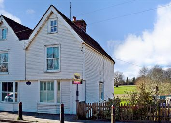 Thumbnail 3 bed semi-detached house for sale in Highgate Hill, Hawkhurst, Cranbrook, Kent