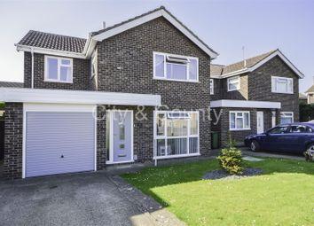 Thumbnail 4 bedroom detached house for sale in Azalea Close, Longthorpe, Peterborough