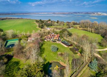 Thumbnail 5 bedroom detached house for sale in Rectory Lane, Church Norton, Chichester, West Sussex