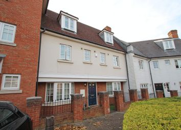 Thumbnail 4 bed terraced house to rent in Watermans Way, Greenhithe