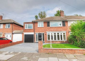 4 bed semi-detached house for sale in Thropton Crescent, Gosforth, Newcastle Upon Tyne NE3