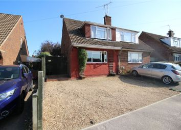 Thumbnail 3 bed semi-detached house for sale in Churchill Close, Farnborough, Hampshire