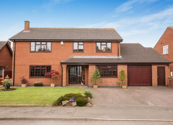 Thumbnail 5 bed detached house for sale in Church Street, Appleby Magna, Swadlincote