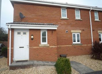 Thumbnail 2 bed semi-detached house to rent in Maes Slowes Leyes, Rhoose, Barry