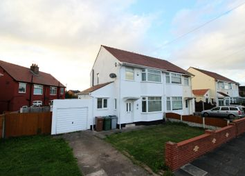 Thumbnail 3 bed semi-detached house for sale in Smilie Avenue, Moreton, Cheshire