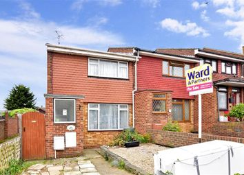 Thumbnail 2 bed end terrace house for sale in Kingshill Drive, Hoo, Rochester, Kent