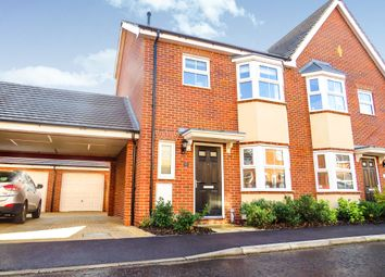 Thumbnail 3 bedroom semi-detached house for sale in Stony Grove, Costessey, Norwich
