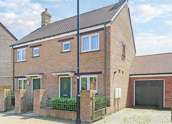 Thumbnail 2 bed link-detached house for sale in Fernacre Road, East Wichel, Swindon