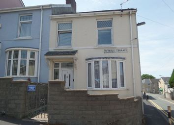 Thumbnail 3 bed end terrace house to rent in Myrtle Terrace, Llanelli
