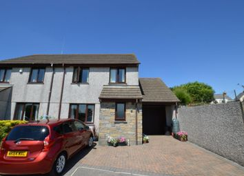 Thumbnail 3 bed semi-detached house for sale in Mount Pleasure, Camborne, Cornwall