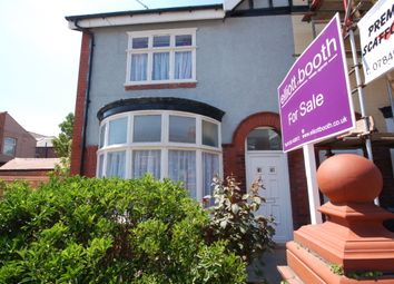 Thumbnail 3 bed semi-detached house for sale in Green Avenue, Blackpool
