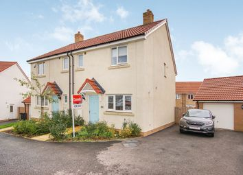 Thumbnail 3 bedroom semi-detached house for sale in Pennycress Close, Emersons Green, Bristol