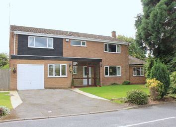 Thumbnail 6 bed detached house for sale in Thickthorn Close, Kenilworth