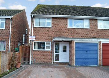 Thumbnail 3 bed semi-detached house for sale in Wellington Close, Newbury