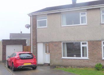 Thumbnail 3 bedroom semi-detached house for sale in Osborne Close, Litchard, Bridgend.