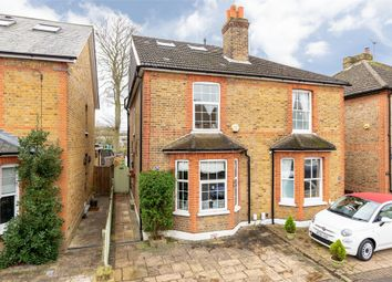 Albany Road, Hersham, Surrey KT12. 4 bed semi-detached house for sale