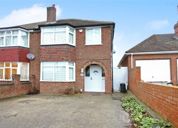 Thumbnail 3 bed semi-detached house for sale in The Drive, Earley, Reading, Berkshire