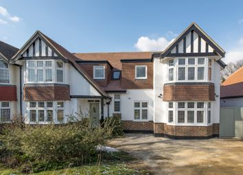 Thumbnail 5 bed semi-detached house for sale in Queensmead Avenue, Epsom
