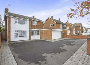 Thumbnail 4 bedroom detached house for sale in Coombe Rise, Oadby, Leicestershire