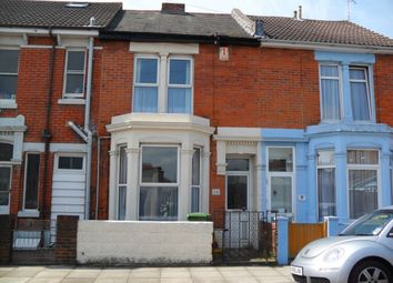 Thumbnail 4 bed terraced house to rent in Delamere Road, Southsea
