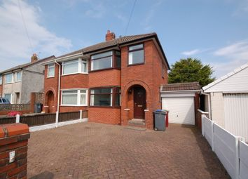 Thumbnail 3 bed semi-detached house to rent in Ainsdale Avenue, Bispham, Blackpool