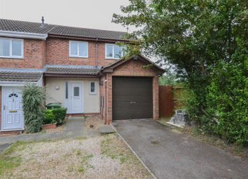 Thumbnail 3 bedroom end terrace house for sale in Nightingale Court, Peterborough