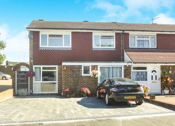 Thumbnail 4 bedroom end terrace house for sale in Lampits, Hoddesdon