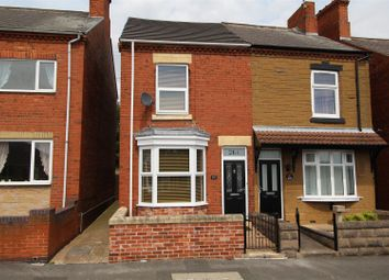 Thumbnail 3 bed semi-detached house for sale in Kilton Road, Worksop