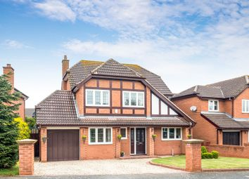 Thumbnail 4 bed detached house for sale in Moat Drive, Drayton Bassett, Tamworth