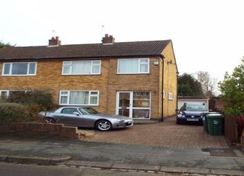 Thumbnail 3 bed semi-detached house to rent in Keswick Avenue, Loughborough