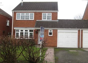Thumbnail 3 bed detached house to rent in Usulwall Close, Eccleshall, Stafford