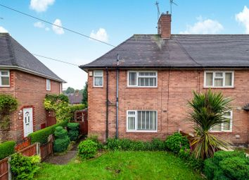 Thumbnail 3 bedroom semi-detached house for sale in Leybourne Drive, Nottingham