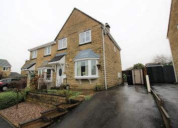 Thumbnail 3 bed semi-detached house for sale in Crowden Drive, Hadfield, Glossop