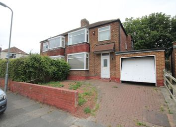 Thumbnail 3 bed semi-detached house for sale in Hillcrest Avenue, Stockton-On-Tees