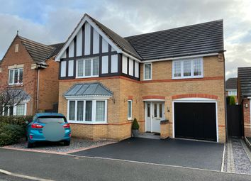 Thumbnail 4 bed detached house for sale in Buckingham Road, Leicestershire, Coalville