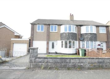 Thumbnail 4 bed semi-detached house for sale in Dolphin Court Road, Plymstock, Plymouth