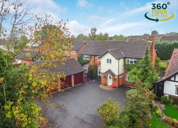 Thumbnail 5 bed detached house for sale in Newton Lane, Wigston, Leicester