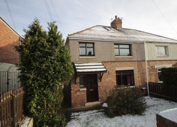 Thumbnail 3 bed semi-detached bungalow for sale in Derwent Road, Ferryhill, Durham
